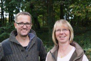 Die beiden Gründer Claudia Klebach und Olaf Keser-Wagner